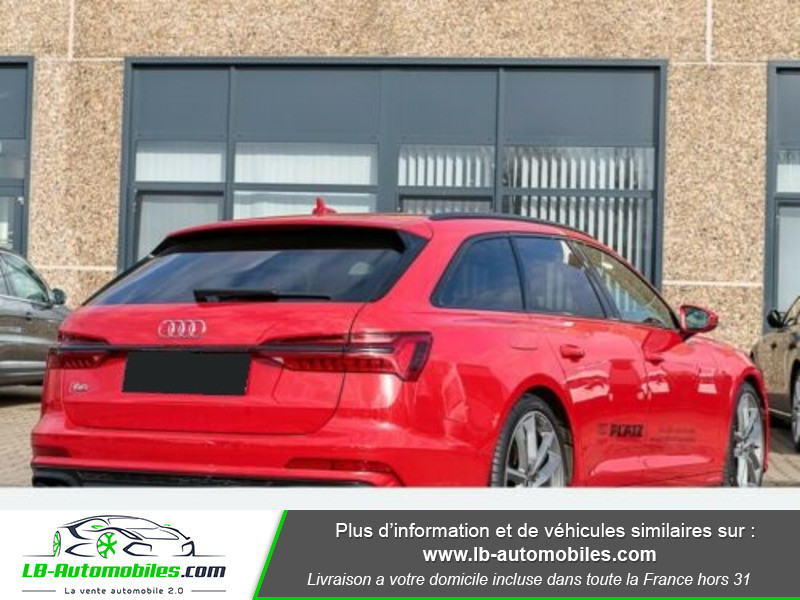 Audi S6 Avant 56 TDI 349 ch Quattro Tiptronic 8 Rouge occasion à Beaupuy - photo n°3
