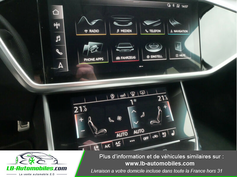 Audi S6 Avant 56 TDI 349 ch Quattro Tiptronic 8 Noir occasion à Beaupuy - photo n°10