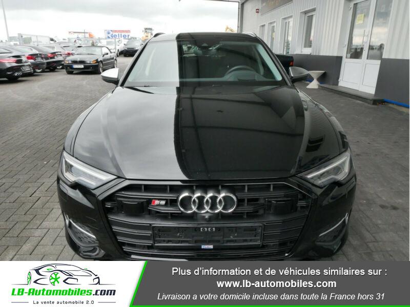 Audi S6 Avant 56 TDI 349 ch Quattro Tiptronic 8 Noir occasion à Beaupuy - photo n°4