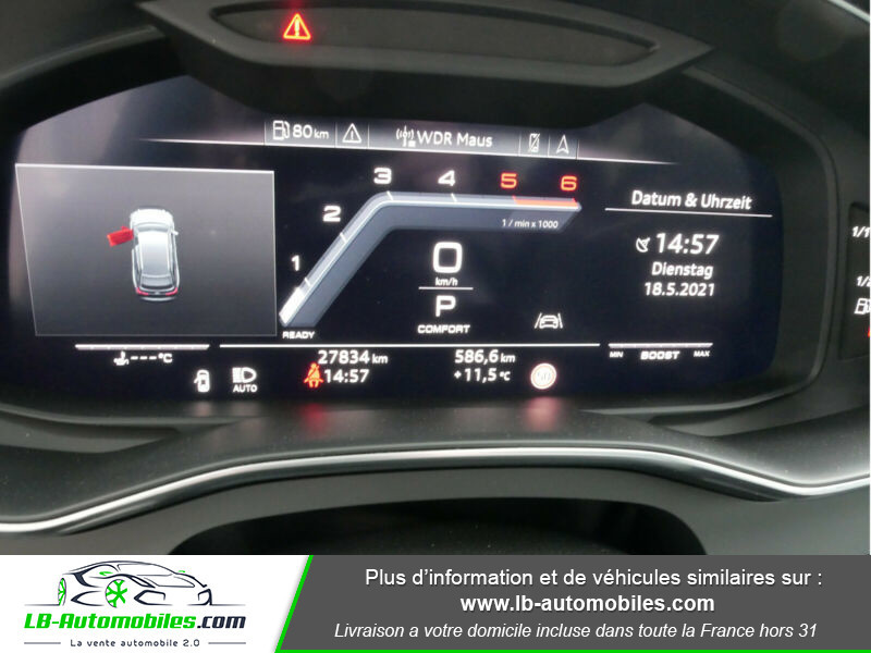 Audi S6 Avant 56 TDI 349 ch Quattro Tiptronic 8 Noir occasion à Beaupuy - photo n°12