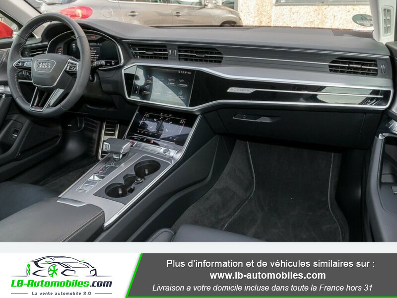 Audi S6 Avant 56 TDI 349 ch Quattro Tiptronic 8 Rouge occasion à Beaupuy - photo n°2