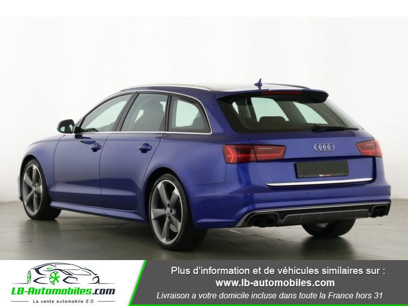 Audi S6 Avant V8 4.0 TFSI 450 Quattro S-Tronic 7 Bleu occasion à Beaupuy - photo n°11