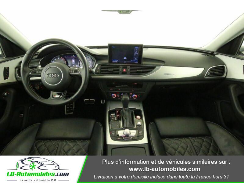 Audi S6 Avant V8 4.0 TFSI 450 Quattro S-Tronic 7 Bleu occasion à Beaupuy - photo n°2