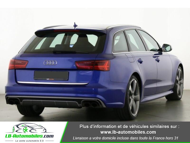Audi S6 Avant V8 4.0 TFSI 450 Quattro S-Tronic 7 Bleu occasion à Beaupuy - photo n°3