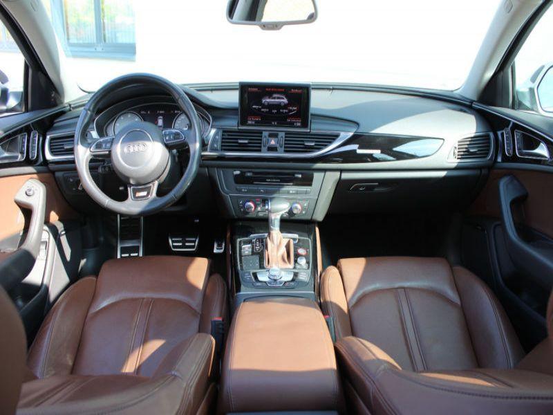 Audi S6 4.0 TFSI 420 Bleu occasion à Beaupuy - photo n°2