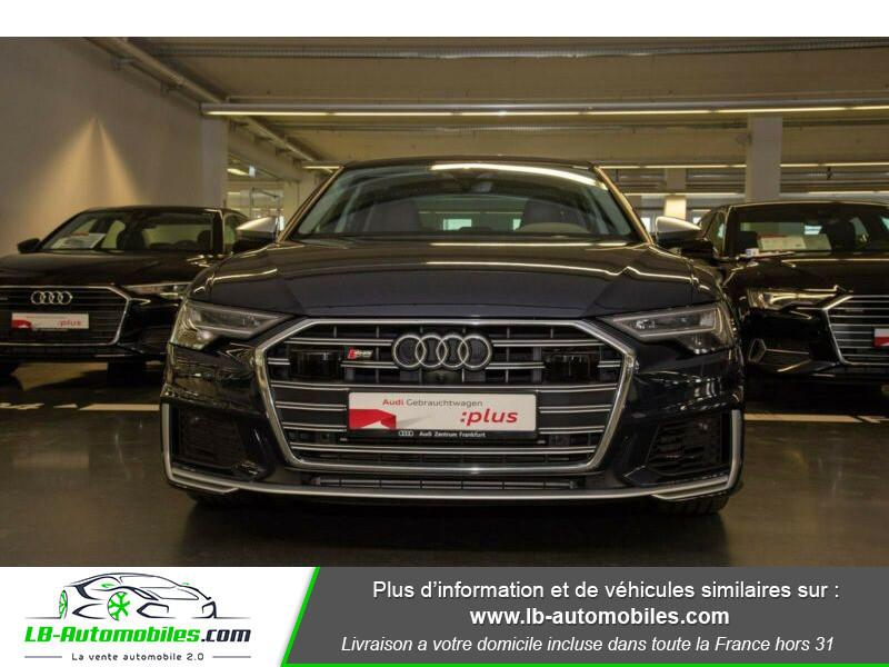 Audi S6 56 TDI 349 ch Quattro Tiptronic 8 Bleu occasion à Beaupuy - photo n°5