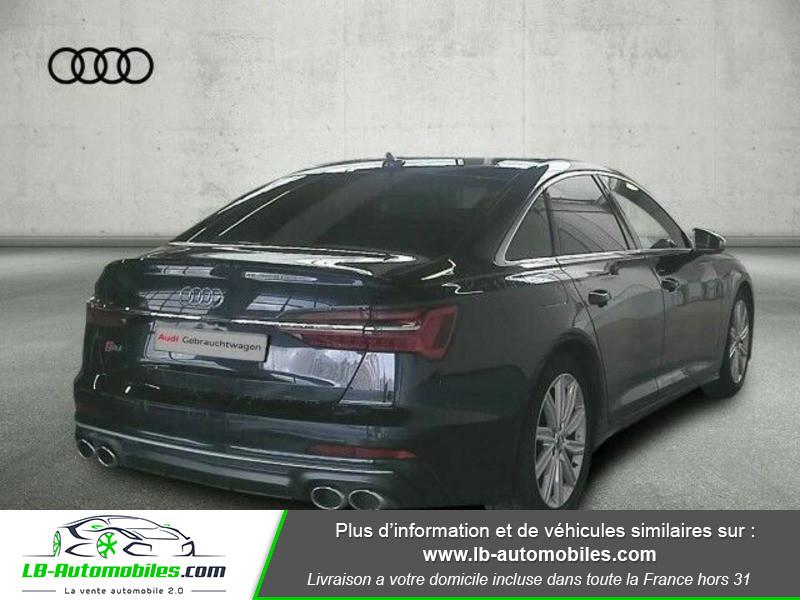 Audi S6 56 TDI 349 ch Quattro Tiptronic 8 Bleu occasion à Beaupuy - photo n°3