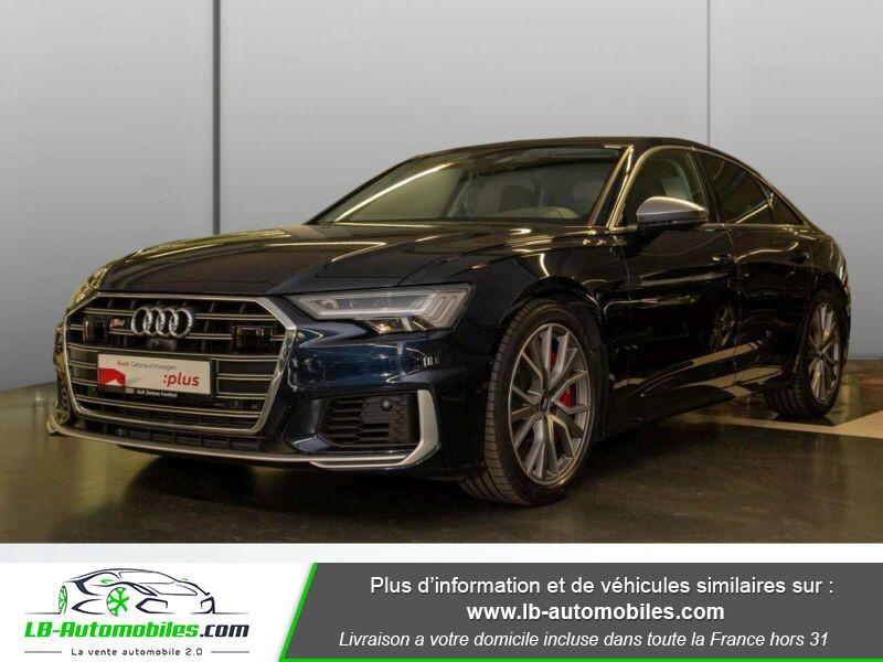 Audi S6 56 TDI 349 ch Quattro Tiptronic 8 Bleu occasion à Beaupuy