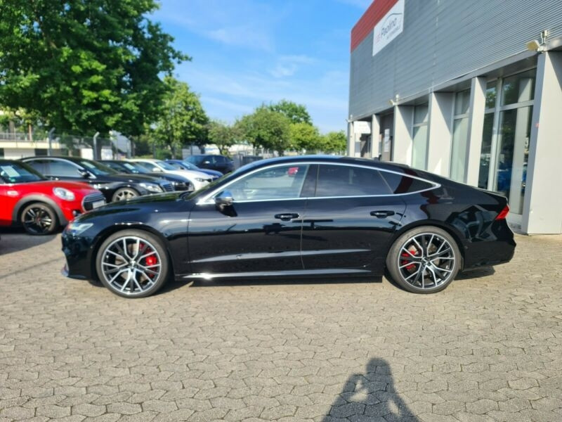 Audi S7 Sportback 3.0 TDI 349CH QUATTRO TIPTRONIC 8 Noir occasion à Villenave-d'Ornon - photo n°2