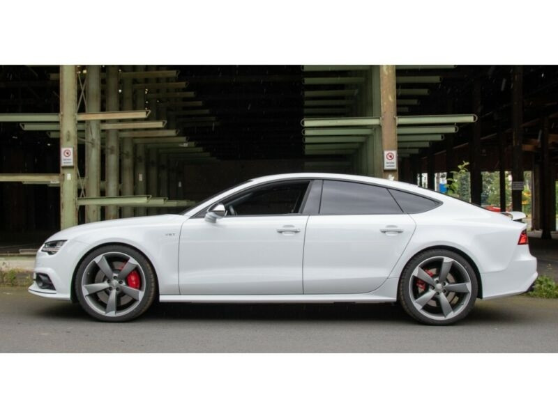 Audi S7 Sportback 4.0 V8 TFSI 450CH QUATTRO S TRONIC 7 Blanc occasion à Villenave-d'Ornon - photo n°2