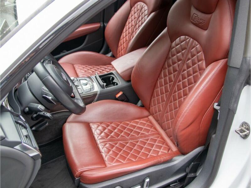 Audi S7 Sportback 4.0 V8 TFSI 450CH QUATTRO S TRONIC 7 Blanc occasion à Villenave-d'Ornon - photo n°5