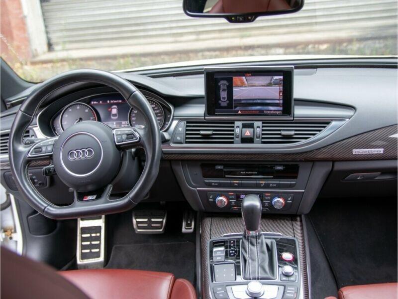 Audi S7 Sportback 4.0 V8 TFSI 450CH QUATTRO S TRONIC 7 Blanc occasion à Villenave-d'Ornon - photo n°4