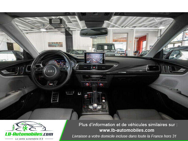 Audi S7 Sportback V8 4.0 TFSI 450 / Quattro S-Tronic 7 Bleu occasion à Beaupuy - photo n°2