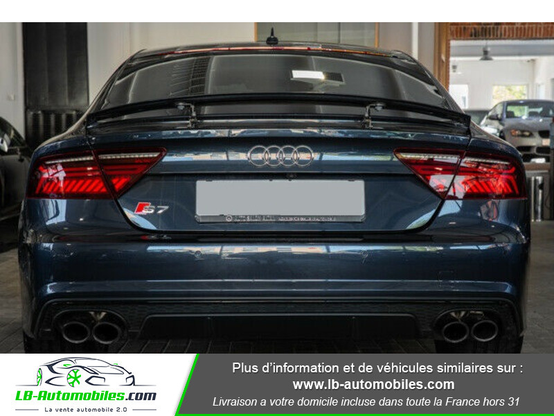 Audi S7 Sportback V8 4.0 TFSI 450 / Quattro S-Tronic 7 Bleu occasion à Beaupuy - photo n°13