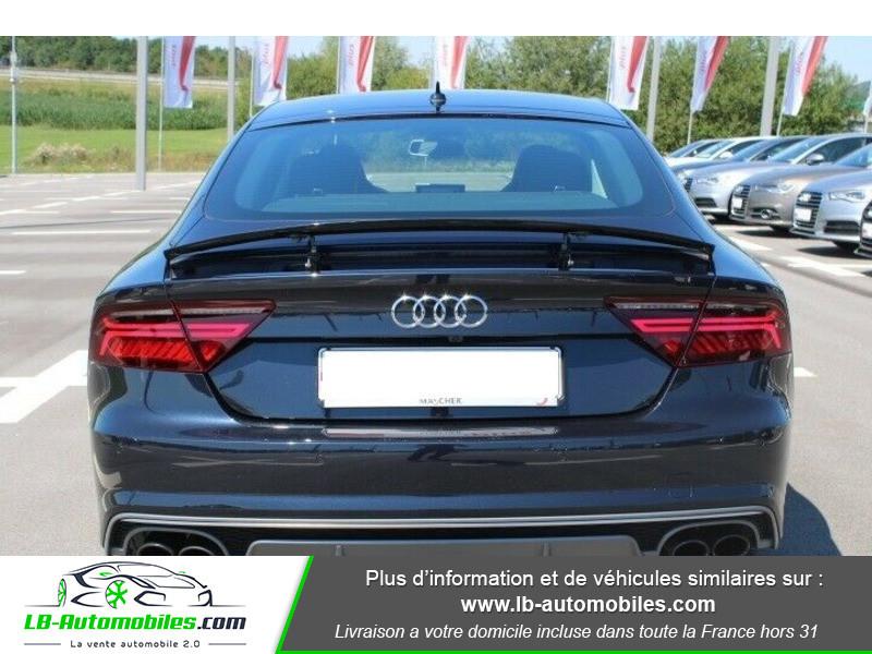 Audi S7 Sportback V8 4.0 TFSI 450 / Quattro S-Tronic 7 Noir occasion à Beaupuy - photo n°5