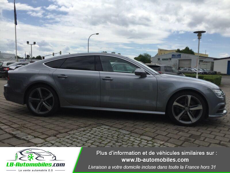 Audi S7 Sportback V8 4.0 TFSI 450 / Quattro S-Tronic 7 Gris occasion à Beaupuy - photo n°12