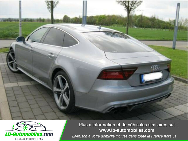 Audi S7 Sportback V8 4.0 TFSI 450 / Quattro S-Tronic 7 Gris occasion à Beaupuy - photo n°3