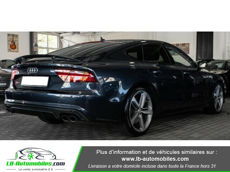 Audi S7 Sportback V8 4.0 TFSI 450 / Quattro S-Tronic 7 Bleu occasion à Beaupuy - photo n°3