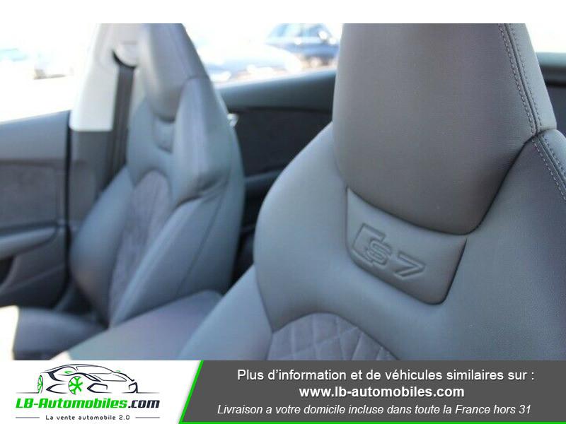 Audi S7 Sportback V8 4.0 TFSI 450 / Quattro S-Tronic 7 Noir occasion à Beaupuy - photo n°14