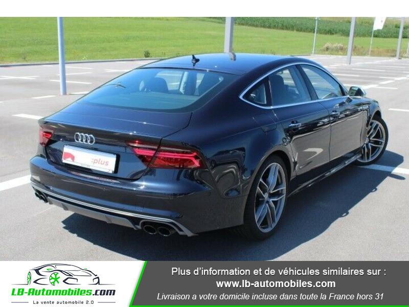 Audi S7 Sportback V8 4.0 TFSI 450 / Quattro S-Tronic 7 Noir occasion à Beaupuy - photo n°3
