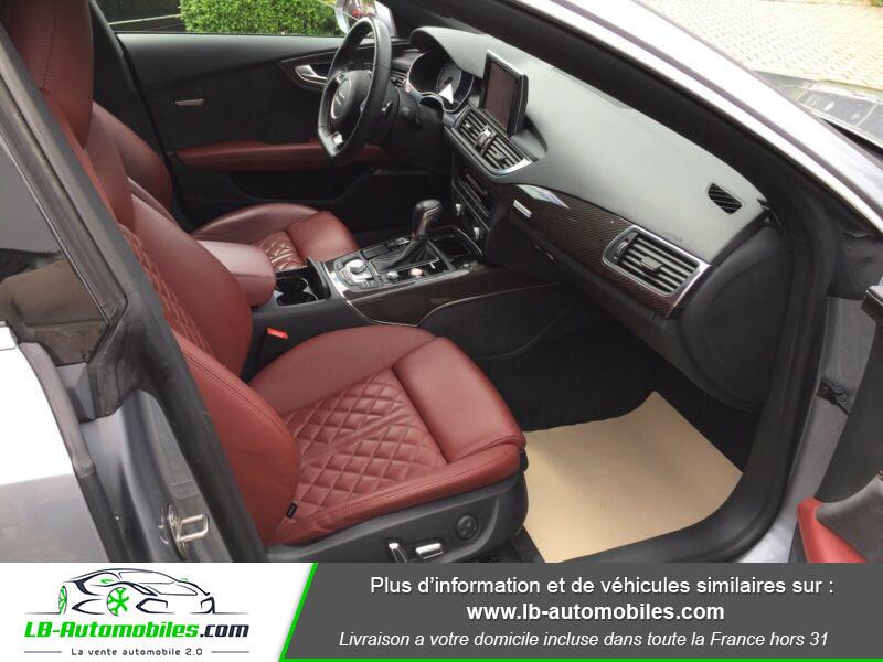 Audi S7 Sportback V8 4.0 TFSI 450 / Quattro S-Tronic 7 Gris occasion à Beaupuy - photo n°9