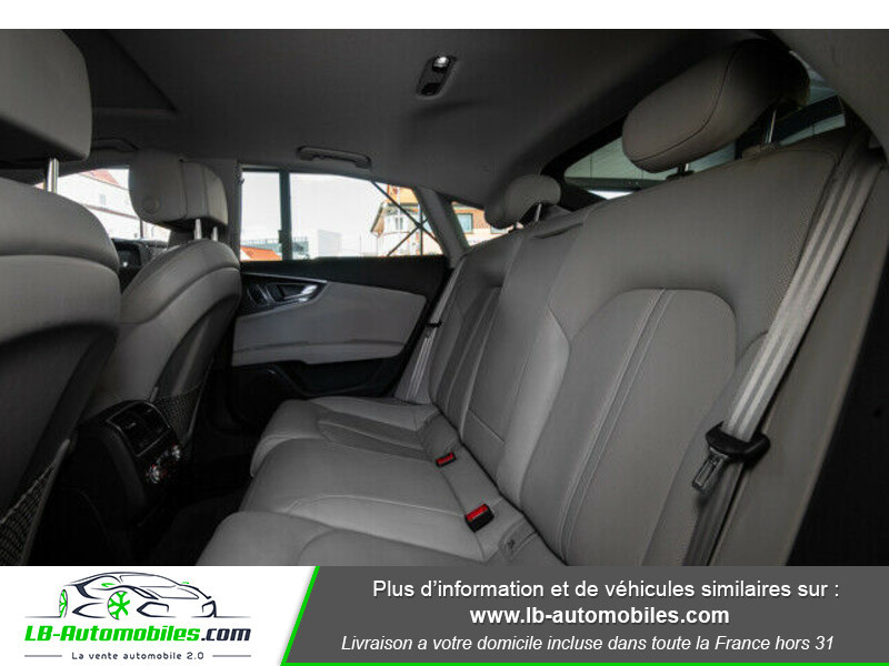 Audi S7 Sportback V8 4.0 TFSI 450 / Quattro S-Tronic 7 Bleu occasion à Beaupuy - photo n°9