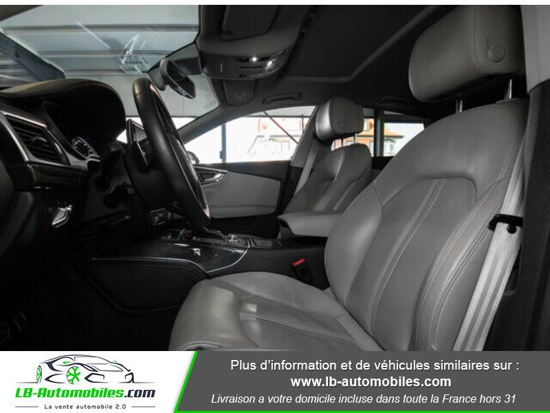 Audi S7 Sportback V8 4.0 TFSI 450 / Quattro S-Tronic 7 Bleu occasion à Beaupuy - photo n°11