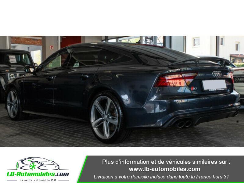 Audi S7 Sportback V8 4.0 TFSI 450 / Quattro S-Tronic 7 Bleu occasion à Beaupuy - photo n°14