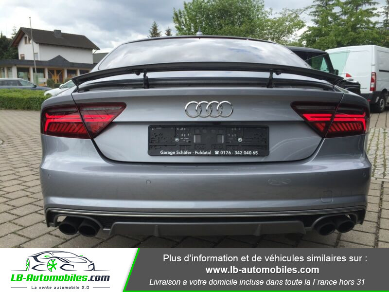 Audi S7 Sportback V8 4.0 TFSI 450 / Quattro S-Tronic 7 Gris occasion à Beaupuy - photo n°10