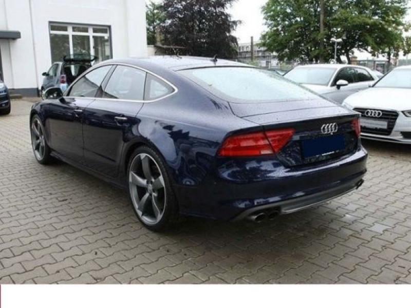 Audi S7 4.0 TFSI 420 CH Bleu occasion à Beaupuy - photo n°2