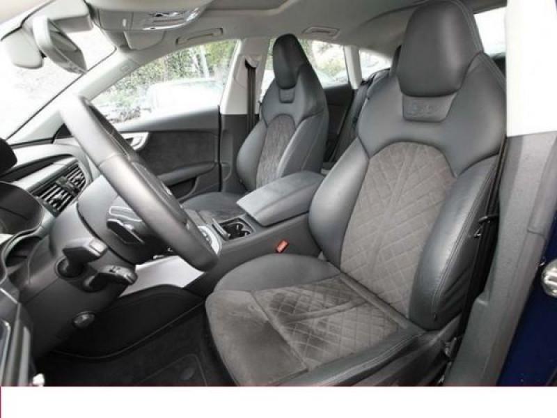 Audi S7 4.0 TFSI 420 CH Bleu occasion à Beaupuy - photo n°4