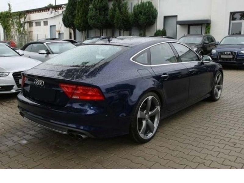 Audi S7 4.0 TFSI 420 CH Bleu occasion à Beaupuy - photo n°7
