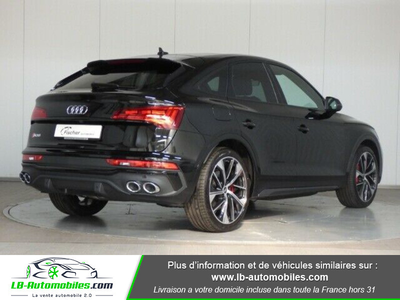 Audi SQ5 Sportback 3.0 V6 TDI 341 Tiptronic 8 Quattro Noir occasion à Beaupuy - photo n°3