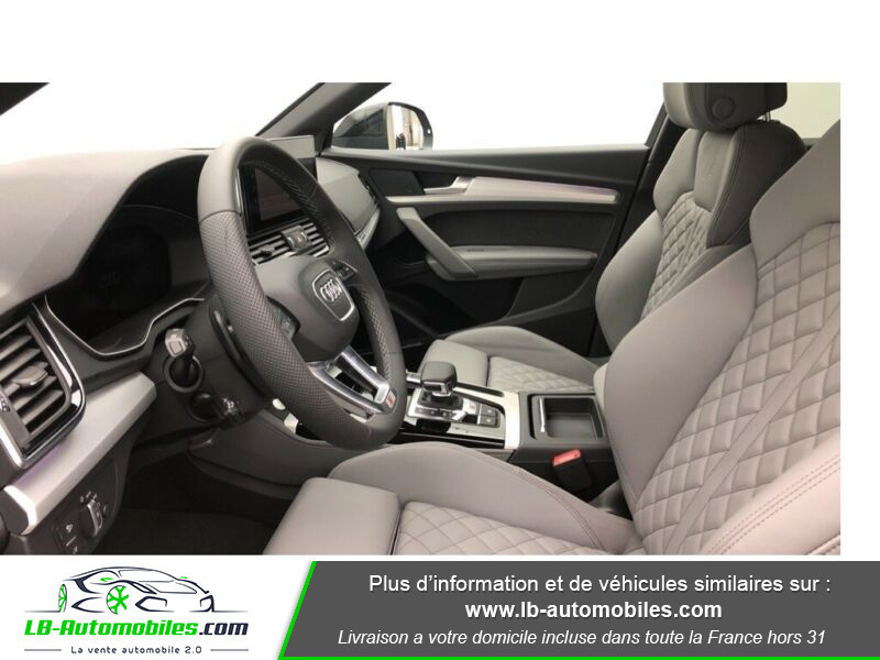 Audi SQ5 Sportback 3.0 V6 TDI 341 Tiptronic 8 Quattro Gris occasion à Beaupuy - photo n°9