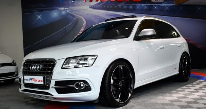 Audi SQ5 3.0 V6 Bi TDI 313 Quattro GPS TO Hayon ACC Drive Lane Brakin  occasion à Sarraltroff - photo n°5