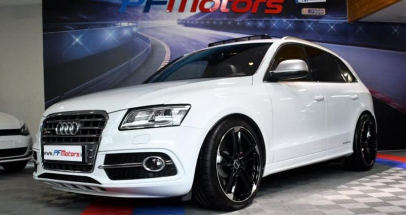 Audi SQ5 3.0 V6 Bi TDI 313 Quattro GPS TO Hayon ACC Drive Lane Brakin  occasion à Sarraltroff - photo n°4
