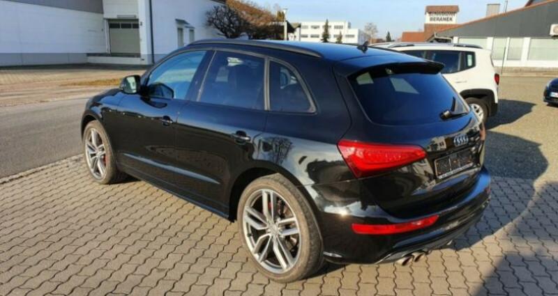 Audi SQ5 3.0 V6 BiTDI 313ch quattro Tiptronic Noir occasion à Boulogne-Billancourt - photo n°4