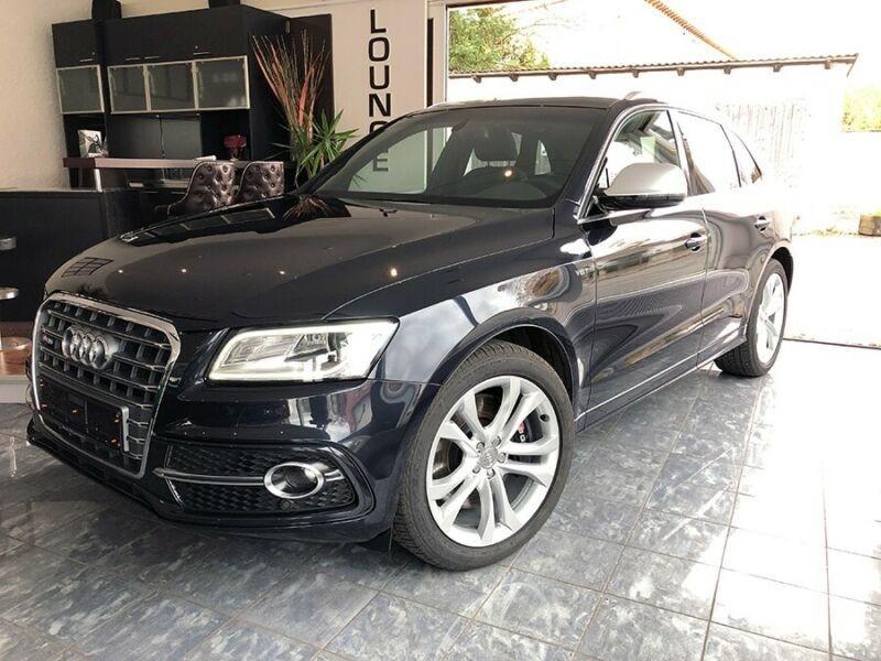 Audi SQ5 3.0 V6 BITDI 313CH QUATTRO TIPTRONIC Noir occasion à Villenave-d'Ornon