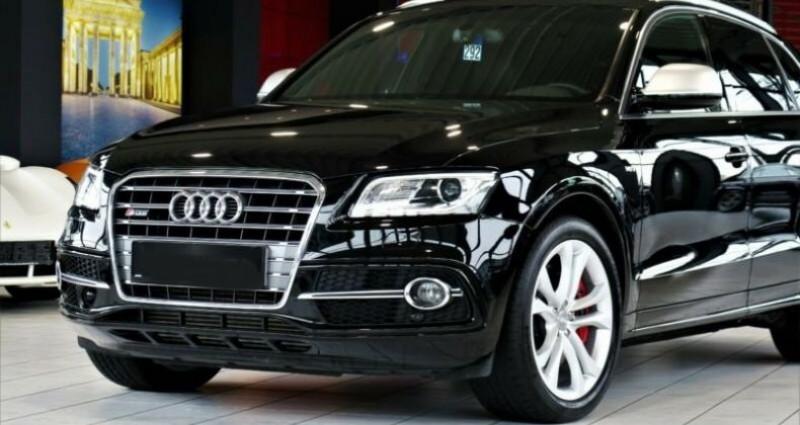 Audi SQ5 3.0 V6 BiTDI 326ch quattro Tiptronic Noir occasion à Boulogne-Billancourt - photo n°4
