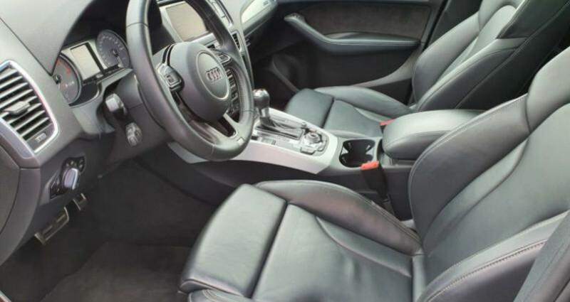 Audi SQ5 3.0 V6 BiTDI 326ch quattro Tiptronic Noir occasion à Boulogne-Billancourt - photo n°7