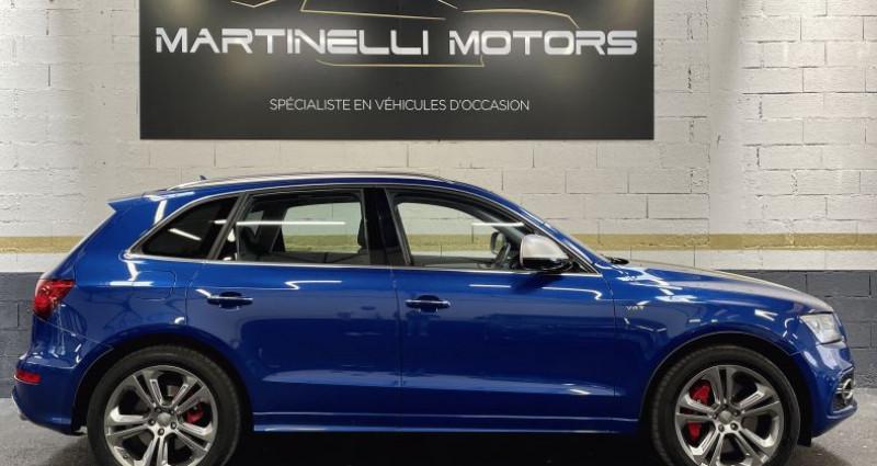 Audi SQ5 3.0 V6 BiTDI 326ch quattro Tiptronic Bleu occasion à MOUGINS - photo n°7