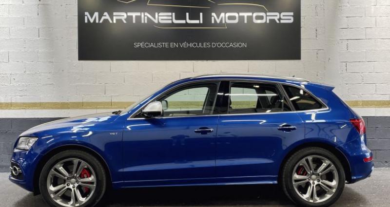 Audi SQ5 3.0 V6 BiTDI 326ch quattro Tiptronic Bleu occasion à MOUGINS - photo n°5