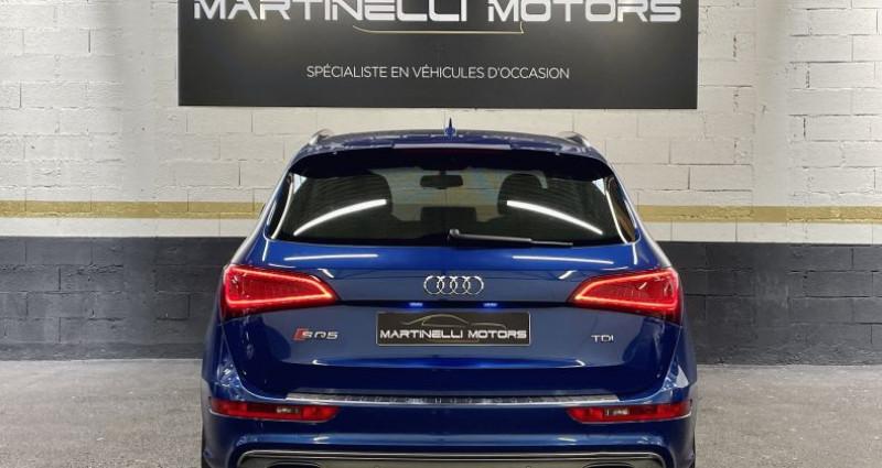 Audi SQ5 3.0 V6 BiTDI 326ch quattro Tiptronic Bleu occasion à MOUGINS - photo n°2