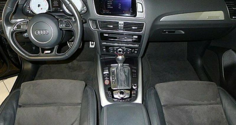 Audi SQ5 3.0 V6 BiTDI 326ch quattro Tiptronic Noir occasion à Boulogne-Billancourt - photo n°3