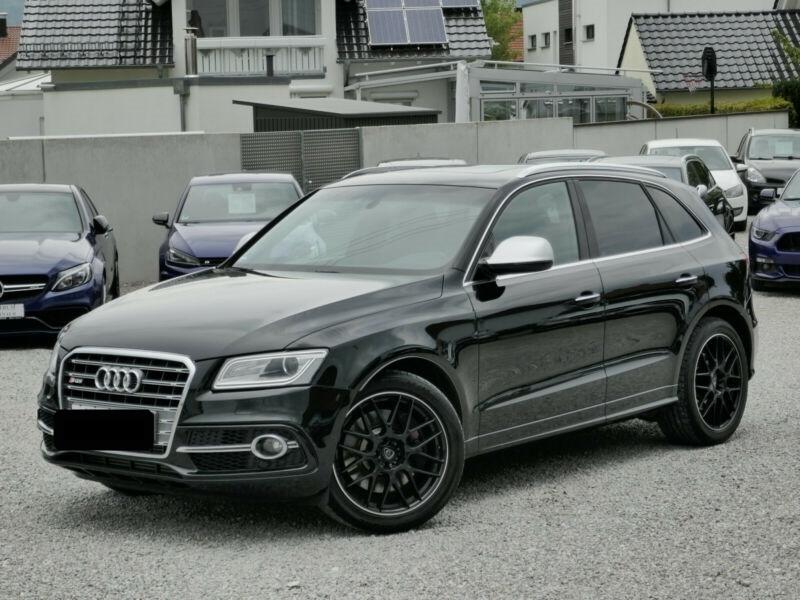 Audi SQ5 3.0 V6 BITDI 326CH QUATTRO TIPTRONIC Noir occasion à Villenave-d'Ornon
