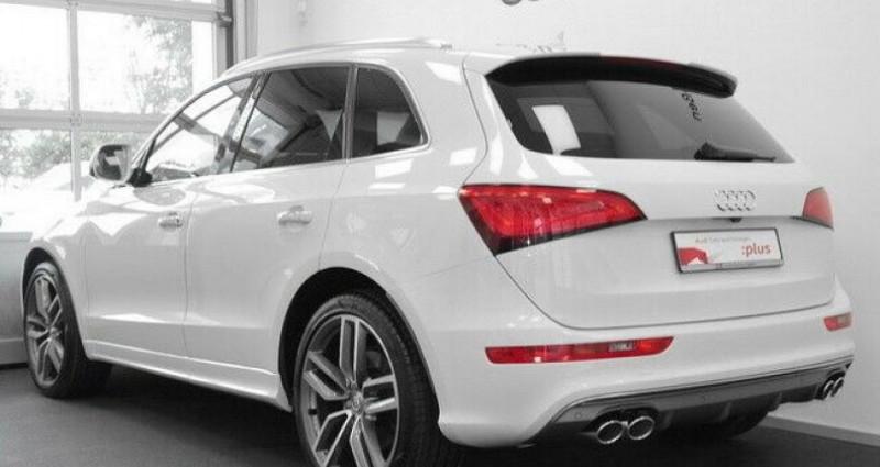 Audi SQ5 3.0 V6 BiTDI 340ch plus quattro Tiptronic Blanc occasion à Boulogne-Billancourt - photo n°2