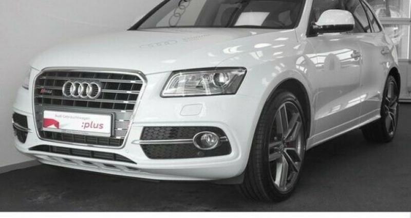 Audi SQ5 3.0 V6 BiTDI 340ch plus quattro Tiptronic Blanc occasion à Boulogne-Billancourt