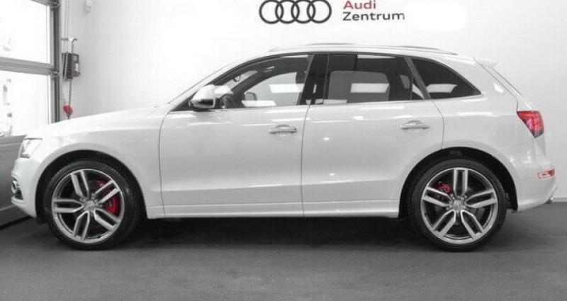 Audi SQ5 3.0 V6 BiTDI 340ch plus quattro Tiptronic Blanc occasion à Boulogne-Billancourt - photo n°3