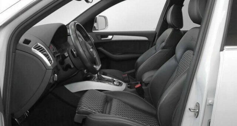 Audi SQ5 3.0 V6 BiTDI 340ch plus quattro Tiptronic Blanc occasion à Boulogne-Billancourt - photo n°6