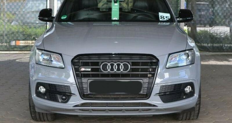 Audi SQ5 3.0 V6 BiTDI 340ch plus quattro Tiptronic Gris occasion à Boulogne-Billancourt